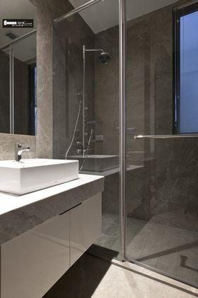 豪华型120平米三室两厅现代简约风格卫生间图片大全