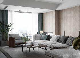 80平米現代簡約風格客廳效果圖