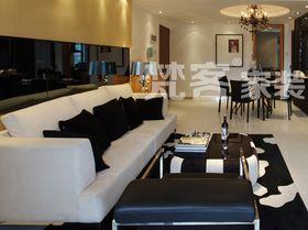 10-15万120平米三室两厅现代简约风格客厅图片