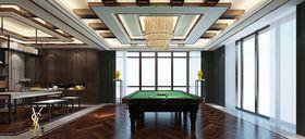 140平米別墅中式風格健身室裝修案例