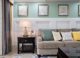 120平米三室兩廳美式風格客廳圖片大全