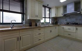 10-15万120平米三室两厅美式风格厨房欣赏图