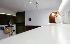 30平米以下超小户型混搭风格客厅图