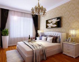 100平米三室两厅欧式风格卧室图