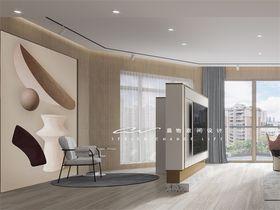 140平米混搭风格健身室设计图