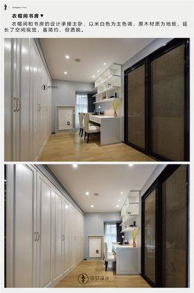 豪華型140平米四室兩廳現代簡約風格衣帽間圖片