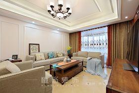 20万以上140平米四室两厅美式风格客厅装修图片大全
