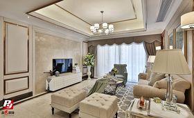 富裕型140平米三欧式风格客厅图片大全