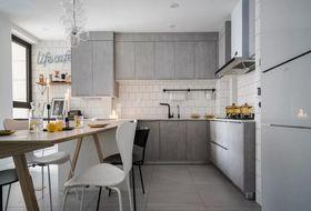 50平米一居室現代簡約風格廚房欣賞圖