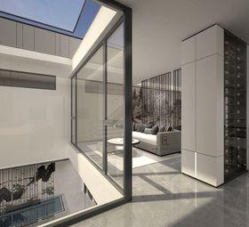 140平米别墅现代简约风格阳光房装修案例