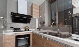 110平米三日式风格厨房设计图
