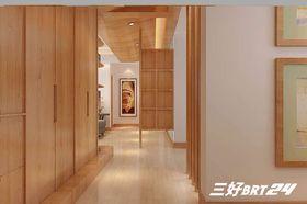富裕型110平米三室两厅日式风格走廊效果图