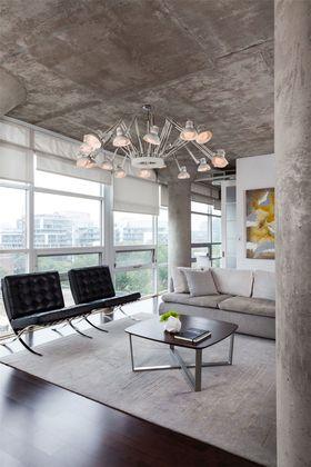 60平米北欧风格客厅装修案例