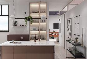20万以上120平米三室两厅现代简约风格厨房装修效果图