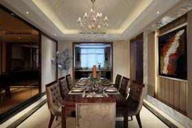 140平米别墅新古典风格餐厅装修案例