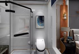 60平米一室一厅其他风格卫生间设计图
