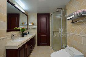 140平米四室两厅美式风格卫生间图片大全