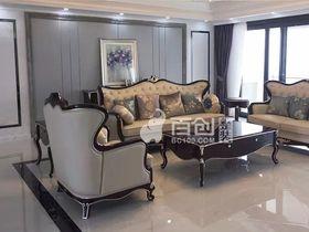 140平米三室两厅新古典风格卧室图片