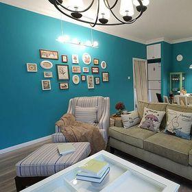 5-10万90平米三室两厅北欧风格客厅装修案例