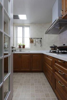 经济型90平米三室两厅美式风格厨房装修效果图