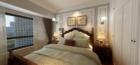 100平米四美式风格卧室图