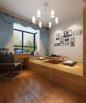 140平米四室两厅中式风格书房装修案例