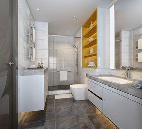 豪华型130平米三室两厅北欧风格卫生间设计图