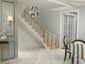 140平米復式美式風格樓梯間欣賞圖