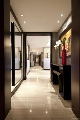 富裕型140平米四室两厅中式风格走廊图片