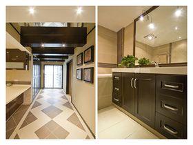140平米四室两厅现代简约风格卫生间装修案例