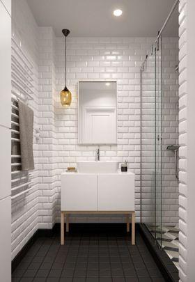 5-10万60平米公寓北欧风格梳妆台装修案例