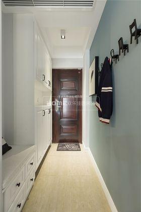 90平米三室两厅混搭风格玄关效果图