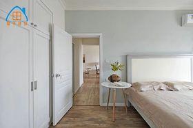 80平米北歐風格臥室圖片