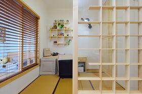 60平米日式风格书房装修案例