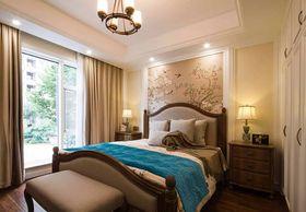 140平米四室两厅混搭风格卧室装修案例