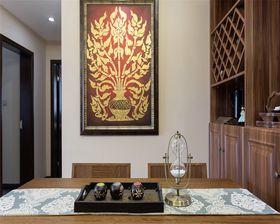 80平米东南亚风格餐厅效果图