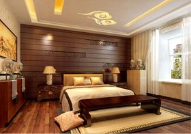 15-20万140平米三室两厅中式风格卧室装修案例