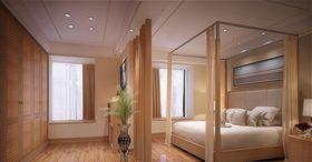 130平米三室两厅中式风格卧室图