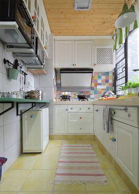 110平米三室三厅地中海风格厨房欣赏图