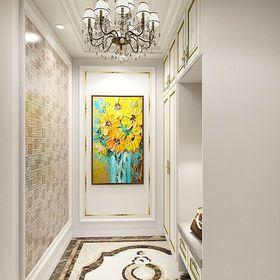 130平米三室两厅欧式风格玄关装修图片大全