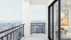 90平米三现代简约风格阳台装修图片大全