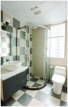 豪华型90平米三室两厅现代简约风格卫生间装修效果图