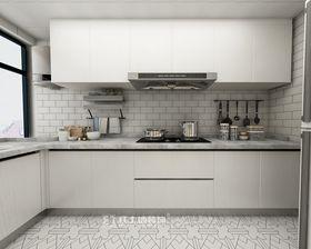 80平米三室两厅北欧风格厨房装修图片大全