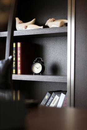 120平米四现代简约风格书房装修效果图
