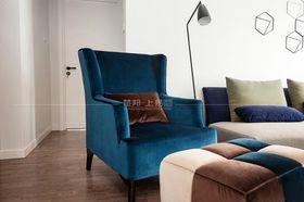 110平米三室一廳現代簡約風格客廳裝修效果圖
