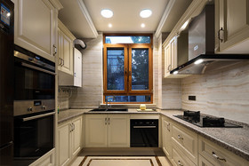 140平米别墅法式风格厨房欣赏图