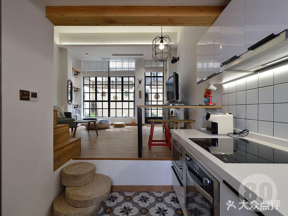 经济型30平米小户型北欧风格厨房装修案例