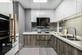 100平米三室两厅北欧风格厨房设计图