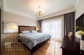 豪华型120平米四室两厅现代简约风格卧室图片大全