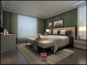 5-10万140平米三室两厅现代简约风格卧室图片大全